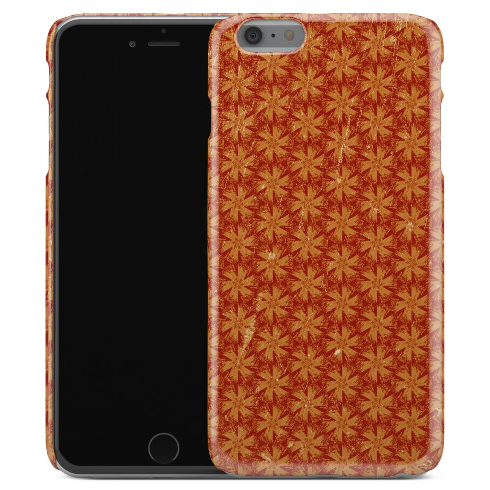 Casestry-Orange-And-White-Snow-Flake-Halloween-Galaxy-iPhone-X-Case